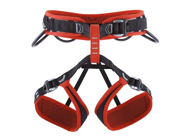 Stubai Triple Sportklettergurt XS-M rot-schwarz